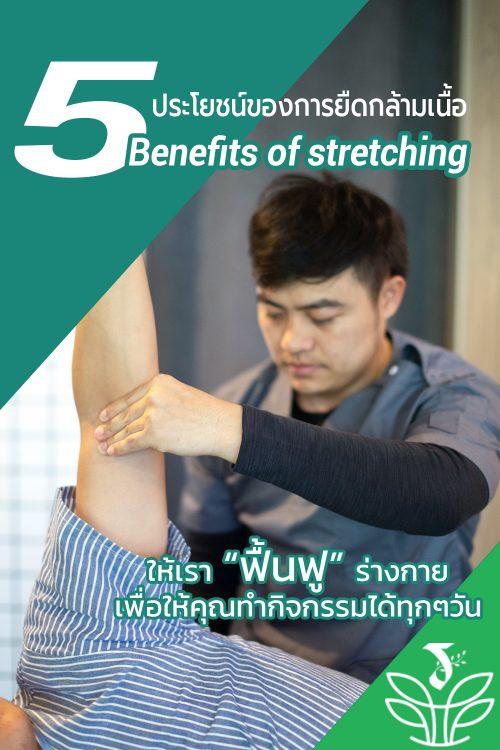 5 ประโยชน์ การยืดกล้ามเนื้อ